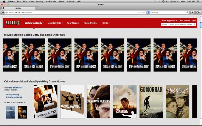 Netflix Suggestions