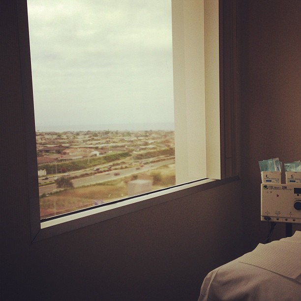 Ocean View Exam Room #dermatology