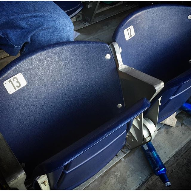 Fare Thee Well #endofanera #gerardseats #bolts #poursomeoutformyhomie