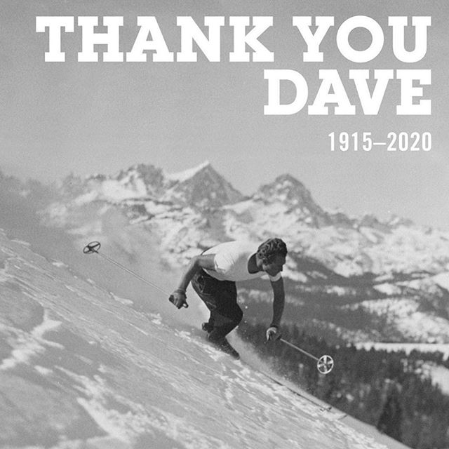 Grateful to those that paved the way before us, so that we may, in turn, pass this beautiful love down to the next generation of shredders. Thank you, Dave.